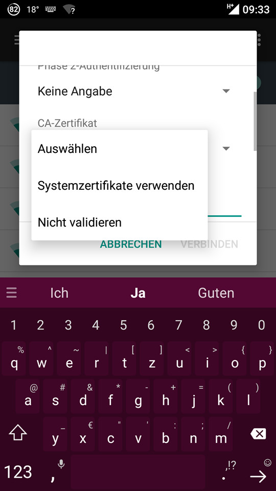 WLAN Verbindungsprobleme unter Android 7.x bzw. LineAgeOS 14.x ...