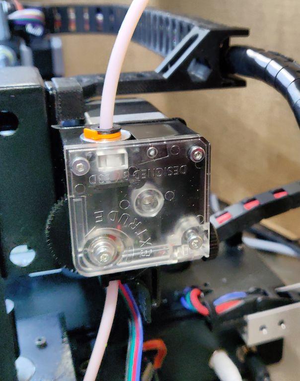 Titan Extruder am AnyCubic i3 MEGA | trueten de